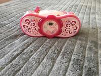 Real CD player BARBIE