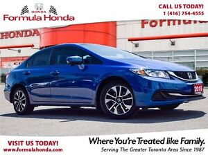 2015 Honda Civic Sedan EX | ACCIDENT FREE | HEATED SEATS - FORMU