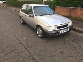 Vauxhall nova 2.0 8v 170bhp ( has full mot now)