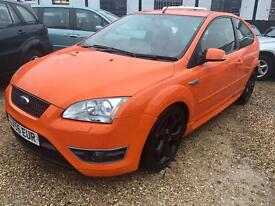 """2006/56 Ford Focus 2.5 SIV ST-3 """"Electric Orange, Full Leather"""""""