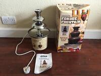 Prime Nostalgia Chocolate Fondue Fountain