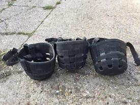 2 cob grazing muzzles and one large pony. Sold together or separately offers welcome