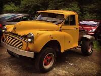 1968 Morris minor pickup one off custom gasser