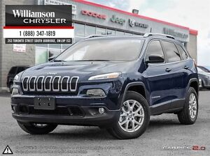 2016 Jeep Cherokee NORTH**COLD WEATHER GRP**TRAILER TOW PKG**8.4