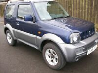 suzuki jimny vvt 4x4 56 reg mot 6th sep 2018 with no advisory very low miles only 59680 ex con