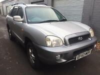 Bargain high spec 4x4 jeep, Hyundai Santa Fe v6 automatic, long MOT