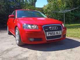 Audi A3 2006 Diesel 1.9 Red