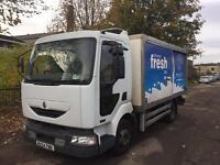 Renault midlum freezer chiller truck 2004