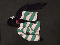 O'NEILL Seb Toots Ski Jacket Size Small Green/White