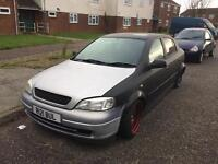 Vauxhall Astra 1.8 modified banded steelies