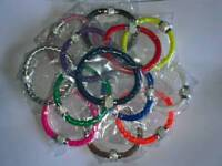 Magnetic clasp rope bracelets