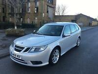 2008 SAAB 9-3 TID VECTOR SPORT ESTATE SPORT WAGON TOP SPEC FULL MOT HISTORY BARGAIN DIESEL