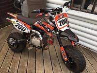 Demon PHATBOI 140 mint fully working pit bike pitbike not cr yz kx
