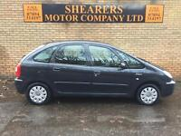 + 06 PICASSO DIESEL ONLY 94 K £1490 +