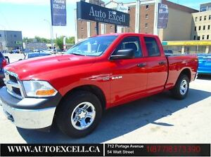 2010 Dodge Ram 1500 ST QUAD CAB ALLOYS 4X4 5.7L 140.5 BOX