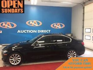 2014 BMW 320I AWD! SUNROOF! LEATHER! ONLY 50660KM! FINANCE NOW!