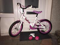 Girls bike age 5 to 7