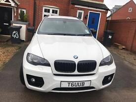 2009 BMW X6 XDRIVE 30D AUTO WHITE LIMITED ED CHERRY RED LEATHER