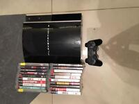 80gb PS3 with 20 games!!!