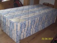 Kozee Sleep 3 ft Single Guest Bed With Mattress & Pull out Trundle Bed