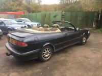 1999 SAAB 9-3 CONVERTIBLE 2.0 TURBO AUTO