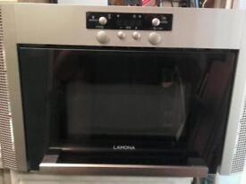 Lamona integrated microwave oven