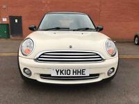 Mini Hatch 1.6 cooper 3dr white double Sun Roof Full Service History