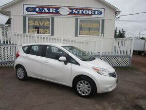 2014 Nissan Versa Note 1.6 SV ONLY 10,000KM AUTOMATIC AIR BACK U