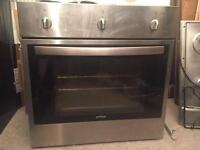 Built in electric oven &gas hob