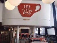 Coffee Shop Staff Wanted Trainees & Experience staff - UK Coffee Stop | Clapham High Street