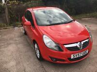Vauxhall corsa 1.4 sxi 3dr 57 reg Finance available good bad poor credit