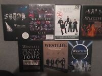 Collection of official westlife DVDs