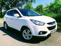 2012 Hyundai IX35 CRDI 2WD PREMIUM****FINANCE FROM £50 A WEEK****
