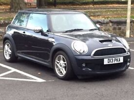 2007 (Jun 07) MINI COOPER S 1.6 S HATCH - 3 Dr - AUTOMATIC - Petrol - BLACK *ALLOYS/FULL MOT/1 OWNER