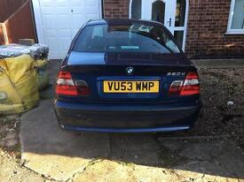 BMW 320D AUTO *FSH* 2003 LEATHER
