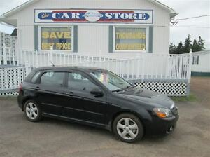 2009 Kia Spectra SX WAGON!! SUNROOF!! A/C!! 5 SPD GAS SAVER!! CR