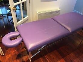 Purple Massage Table Excellent Condition