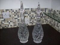 Pr of Decanters