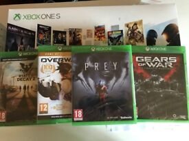 Xbox One S 1TB Starter Bundle + State of Decay 2 + Overwatch + Gears of War + Prey