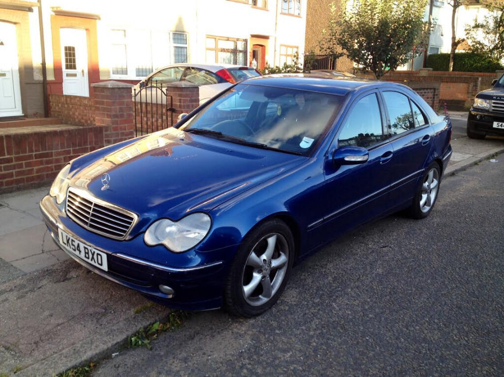 2004 54 mercedes benz c200 cdi automatic diesel 118k hpi clear in enfield london gumtree. Black Bedroom Furniture Sets. Home Design Ideas