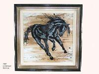 Le Danseur Naja - Large Framed Dancing Horse Picture 910mm x 910mm