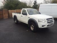 2007-57-reg ford ranger 2.5TDCI single cab 4x4 pick up very nice truck FSH FREE UK DELIVERY to you