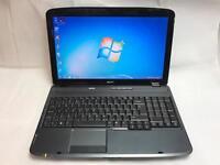 Acer Quick Laptop, 3GB Ram, 160GB,Windows 7, Microsoft office, Very Good Condition,Wifi,Antivirus