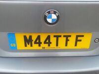 M44TTF - Personalised Plate