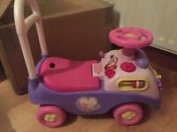 Disney princess ride on car
