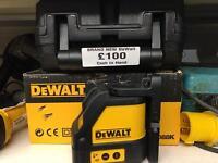 dewalt laser level brand new