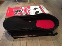 Phil & Teds Classic/Sport/ Dash Peanut Bassinet In Black