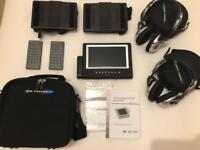 Nextbase in-car portable DVD player system