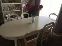 Gorgeous M&S dining table and chairs