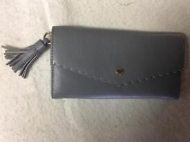 Grey Ladies Purse 👛Real Leather Paul Costelloe